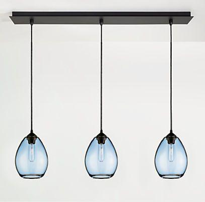 Sky Pendants, Row of Three - Modern Lighting - Modern Lighting - Room &…