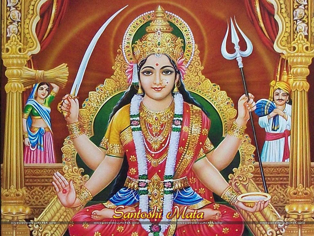 Santoshi Maa Hd Quality Wallpaper Download Jai Santoshi Maa Maa