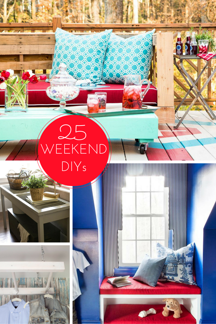 25 Weekend Remodeling Projects Budget Decorating Pinterest Diy