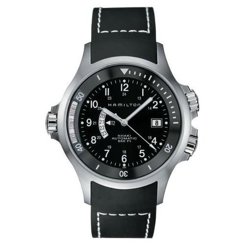 This Hamilton Khaki Navy Watch (Model #H77615333) may be the world time watch that I've been wanting.