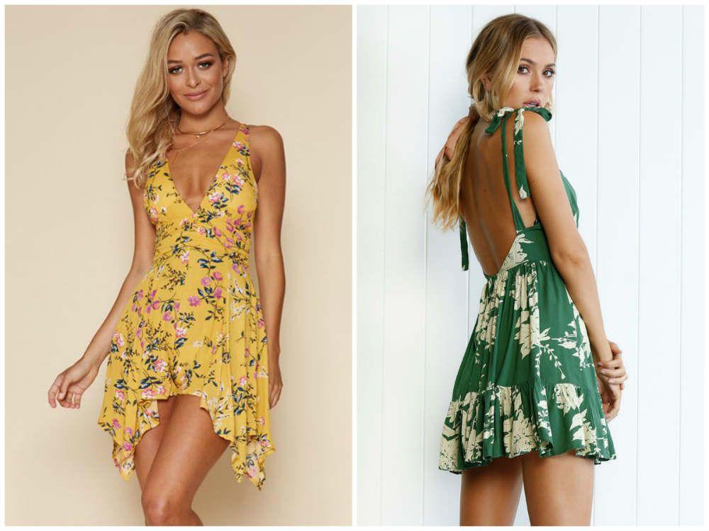 Летние Платья. Модные Тенденции изоражения