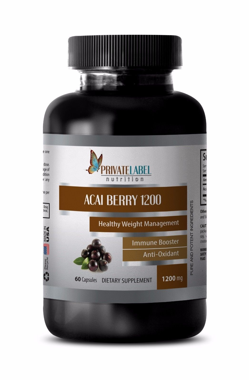 Acai Berry Lean With Green Tea Extract Super Anti Oxidant