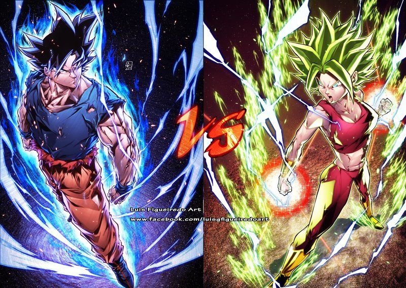 Goku Vs Kefla From Db Super By Marvelmania Deviantart Com On Deviantart Dragon Ball Super Goku Dragon Ball Image Anime Dragon Ball