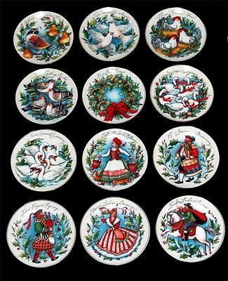 12 Susan Winget 12 DAYS OF CHRISTMAS Decal Dessert Plates NEW (see details) Rare  sc 1 st  Pinterest & 12 Susan Winget 12 DAYS OF CHRISTMAS Decal Dessert Plates NEW (see ...