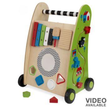 KidKraft Push-Along Play Cart