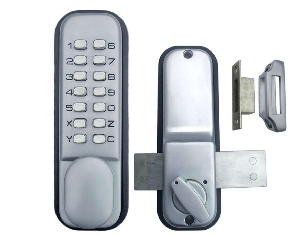 Free Shipping Mechanical Locks Digital Code Door Lock All Weather