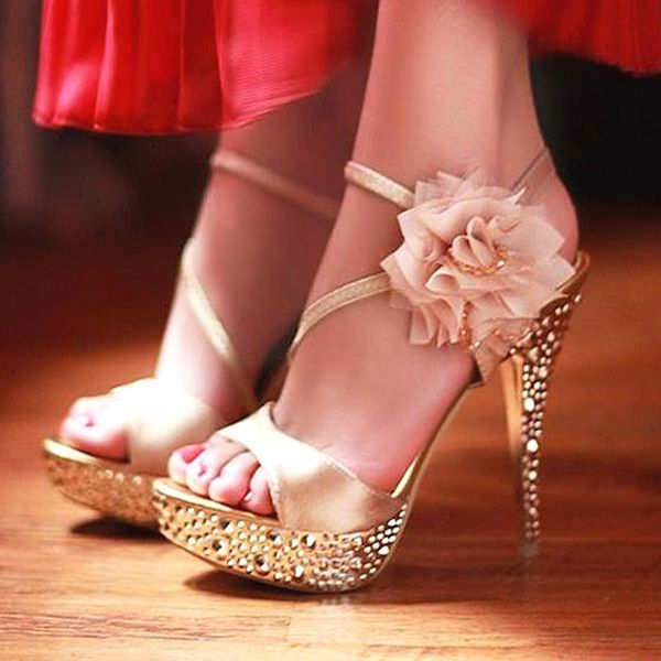 1000  images about flower high heels on Pinterest