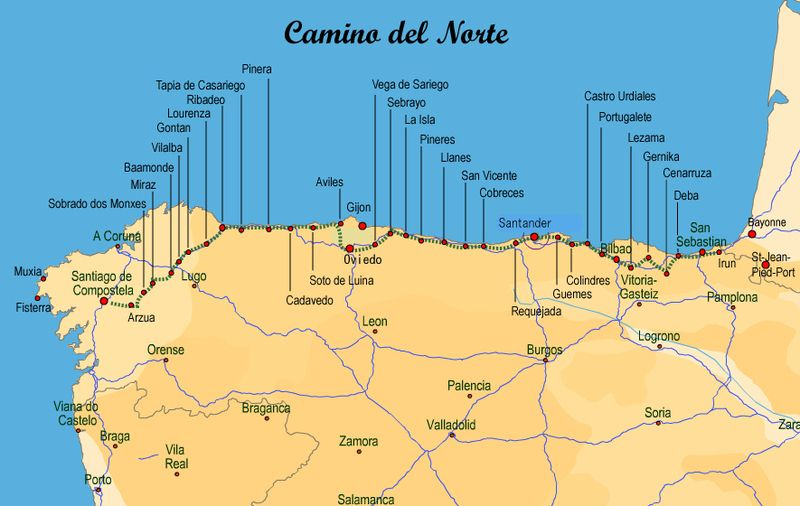 Camino Del Norte Google Search Spain Places To Visit Hiking
