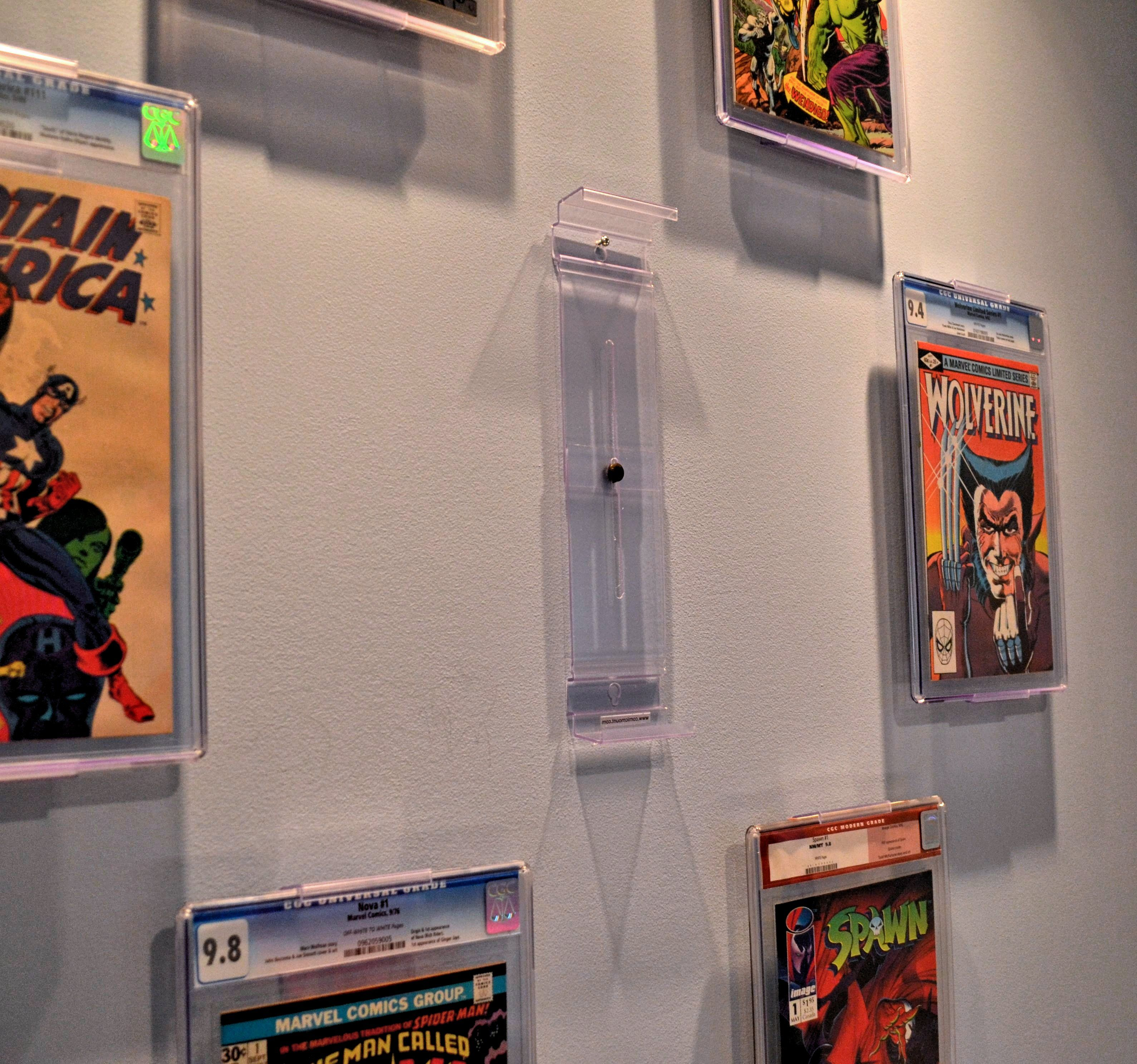 """Comic Book Room Ideas: NEW """"Two In One"""" Comic Book And Collectible Display That"""