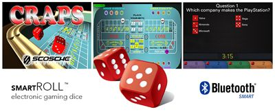 Feeling lucky? Bluetooth Smart dice may show you the money