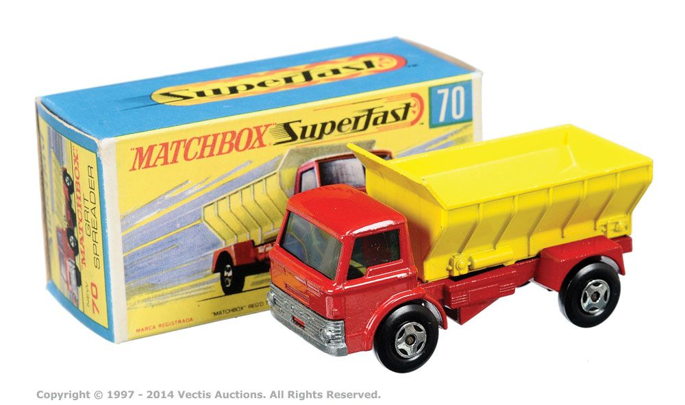 Matchbox Superfast No.70a Ford D800 Grit Spreading Truck