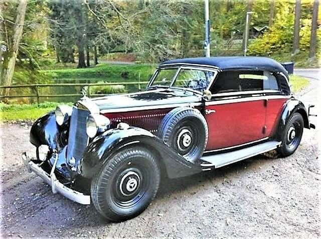 "Classic Cars on Instagram: ""1941 Mercedes-Benz 320B Cabriolet Please contact for copyright or any kind of inconveniences #classiccars #oldcars #vintagecars #oldgold…"""