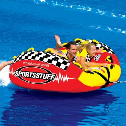 This amazing new towable tube offers a thrill ride for one or two ...