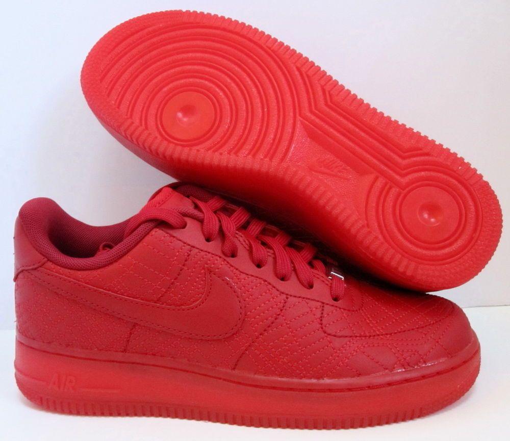 90f5a3d2aaf4 NIKE AIR FORCE 1  07 FW QS TOKYO RED 9  MEN S 7.5  mid lunar tisci gold  solar  Nike  RunningCrossTraining