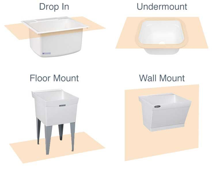 How To Choose A Utility Sink Utility Sink Small Utility Sink