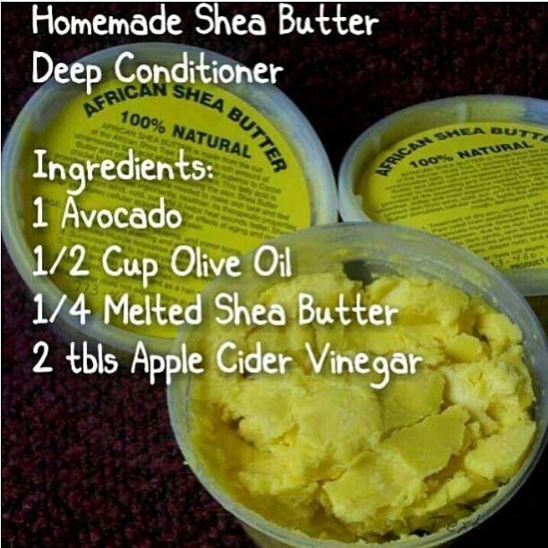 shea butter deep conditioner