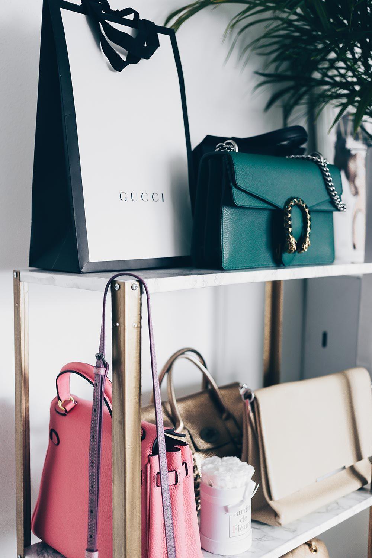 Ikea Hyllis Hack Meine Diy Taschen Aufbewahrung Im Ankleideraum