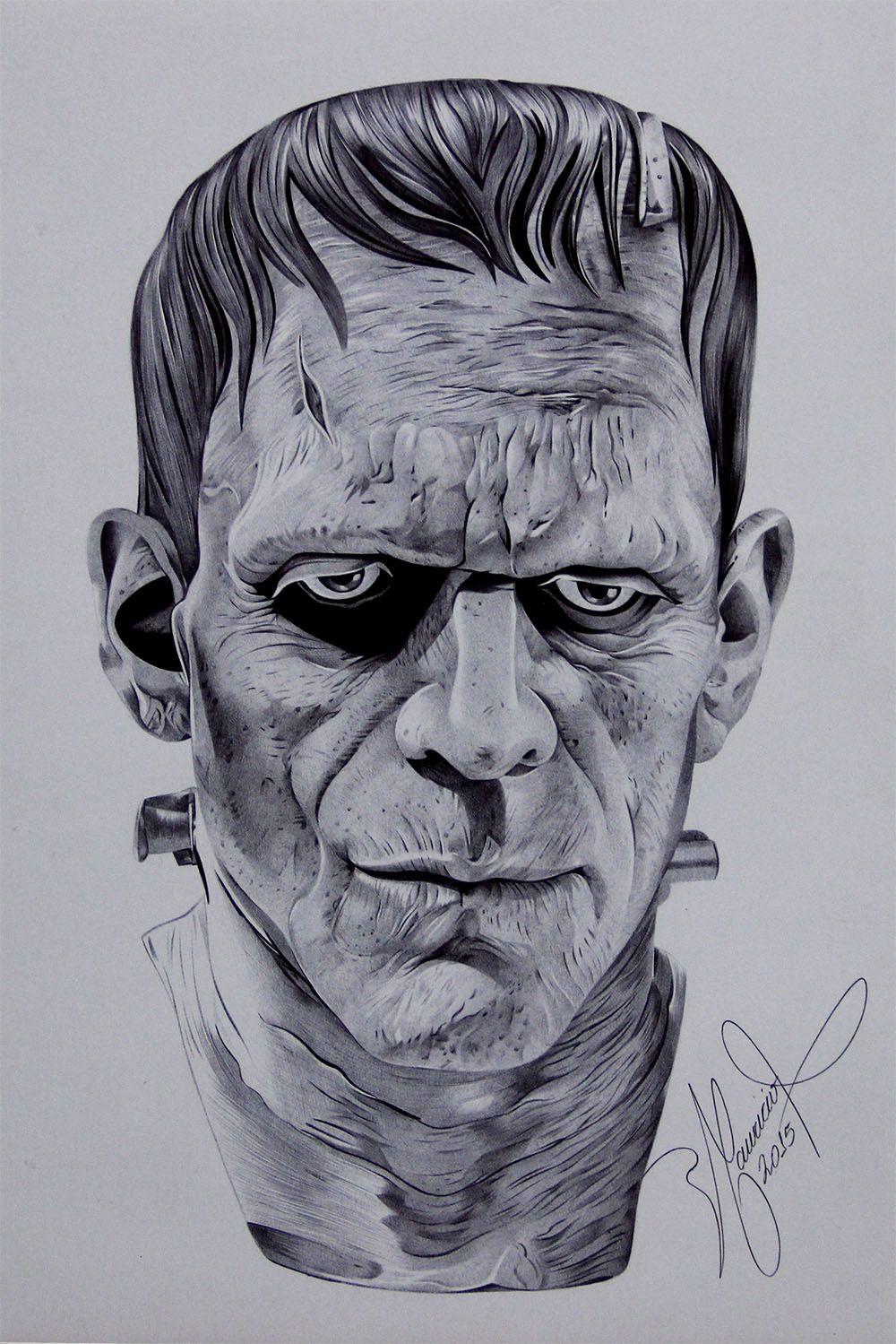 Lujo Colorear La Cabeza De Frankenstein Imagen - Ideas Creativas ...
