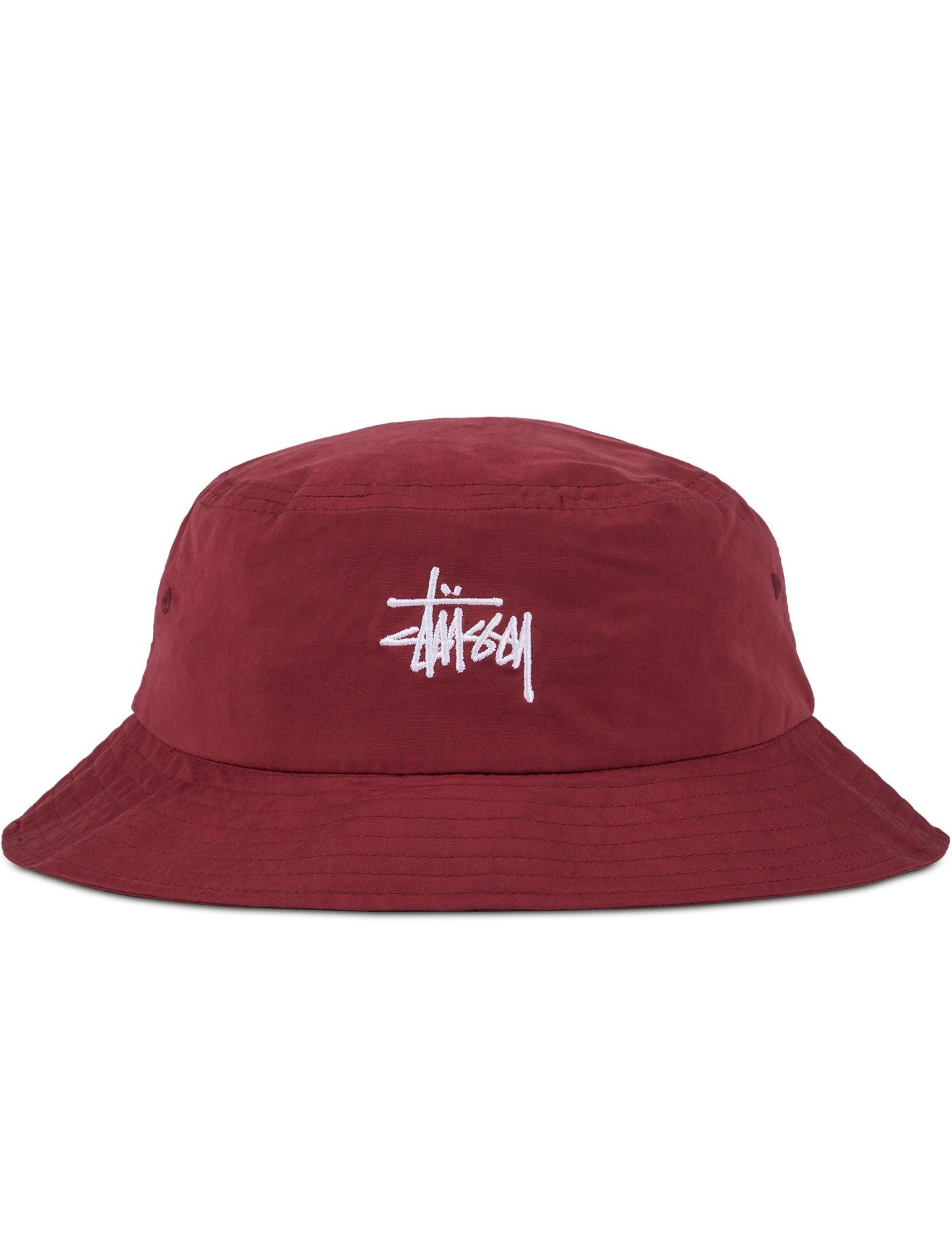 8308c8ee105 Shop Stussy Classic Logo Bucket Hat at HBX. Free Worldwide Shipping  available.