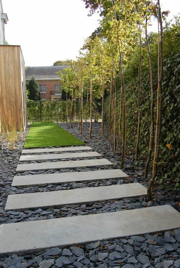 Allées de jardin créatives pour votre extérieur | Allées de jardin ...