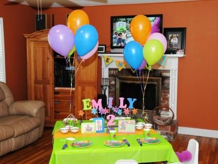 2 Year Old Birthday Party Ideas New Party Ideas