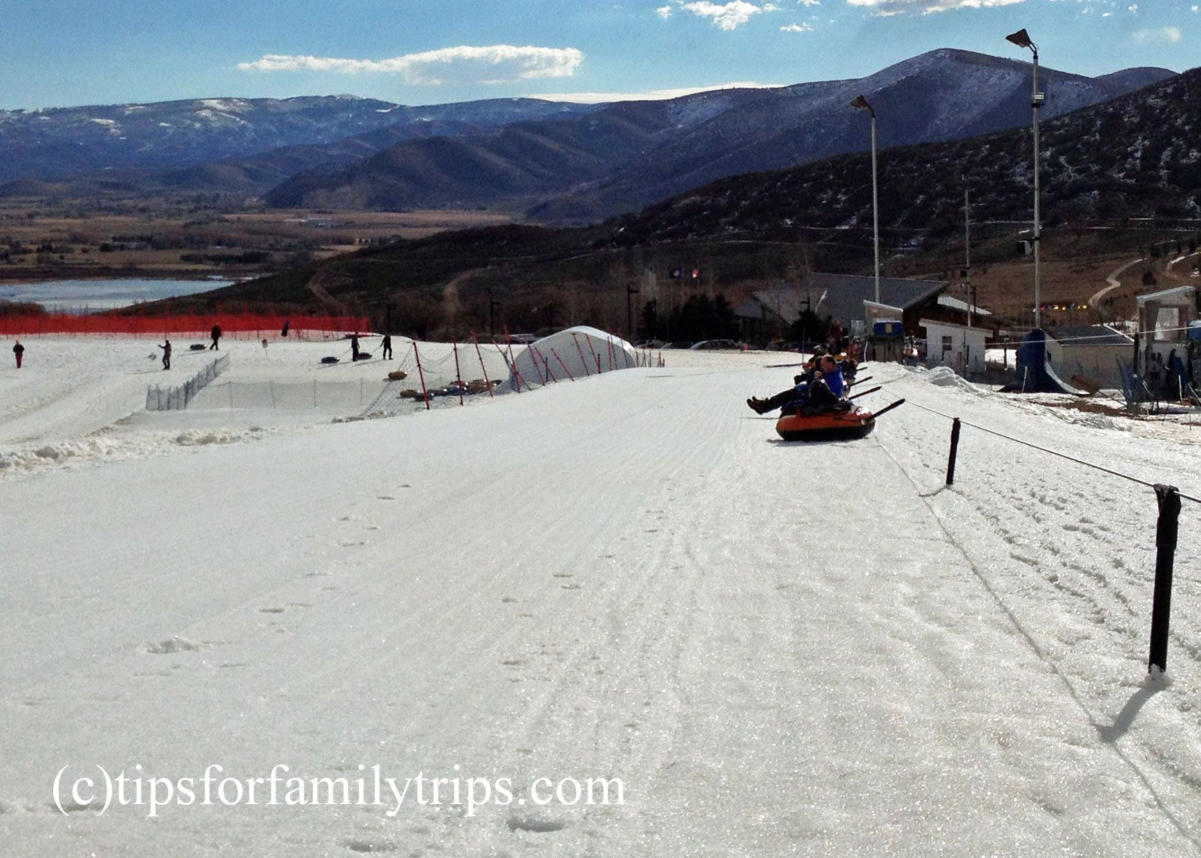 Big thrills on Soldier Hollow's snow tubing hill | Family