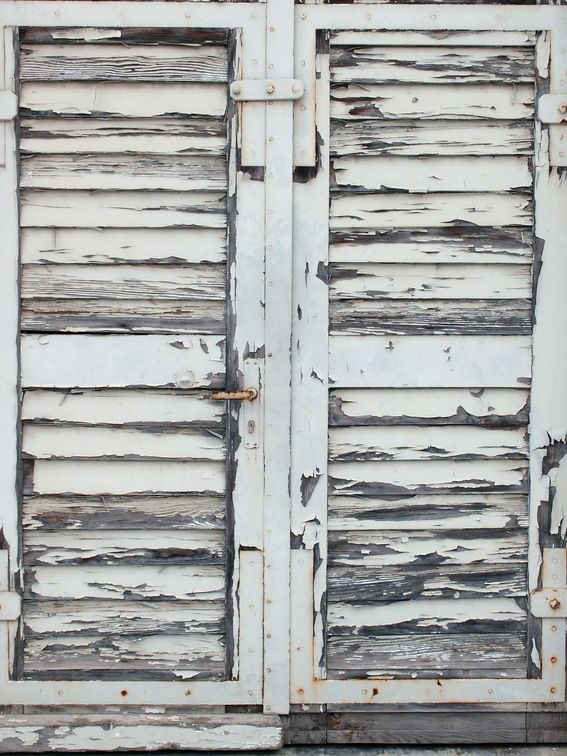 Texture Paired With Something Clean And Slick A Great Look Old Shutters Weathered Paint Elements Of Design
