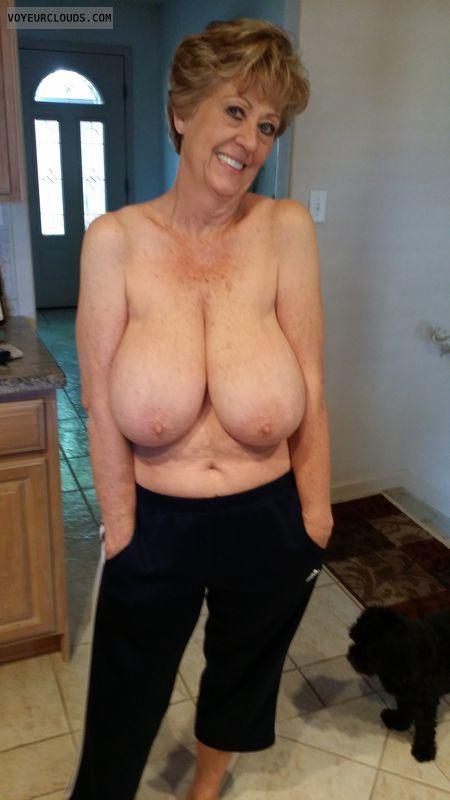 Mega old tits
