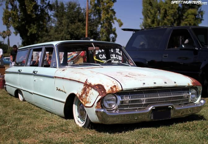 Ford Falcon I 1961 Falcon Wagon Ford Falcon Wagons Lowriders