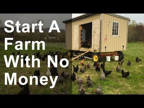 How to Start a Farm with No Money - YouTube