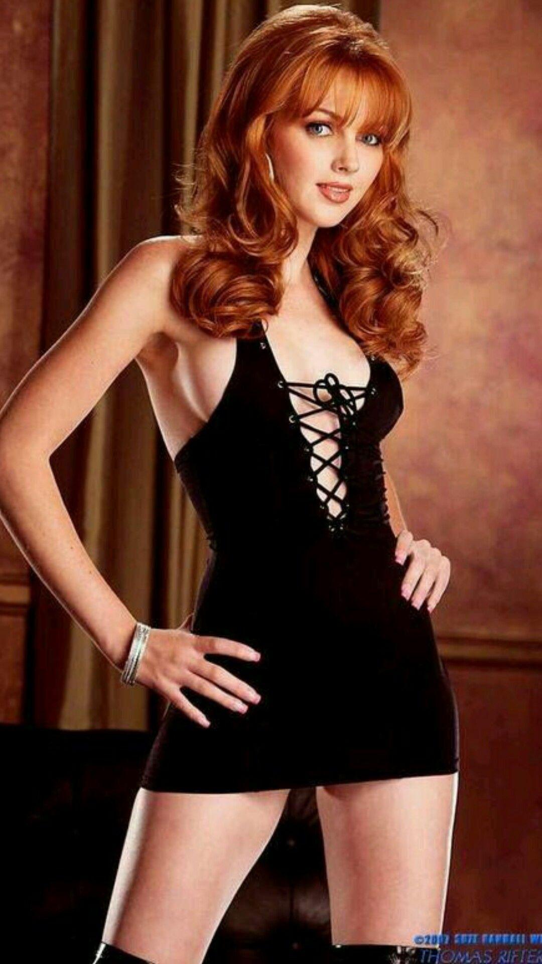 GABRIELLE: Firm boob redhead