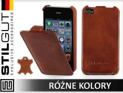 Stilgut Etui Futeral Apple Iphone 4 4s 100 Skora 3635331299 Oficjalne Archiwum Allegro Iphone Electronic Products Apple
