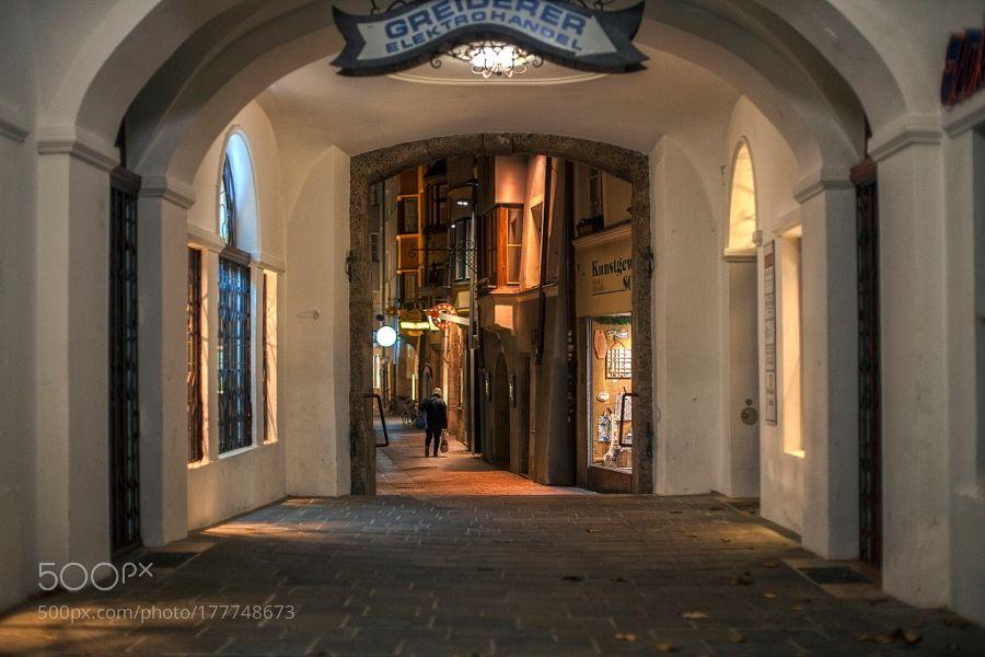 Innsbruck | Alley | (2015) by federico_loddo