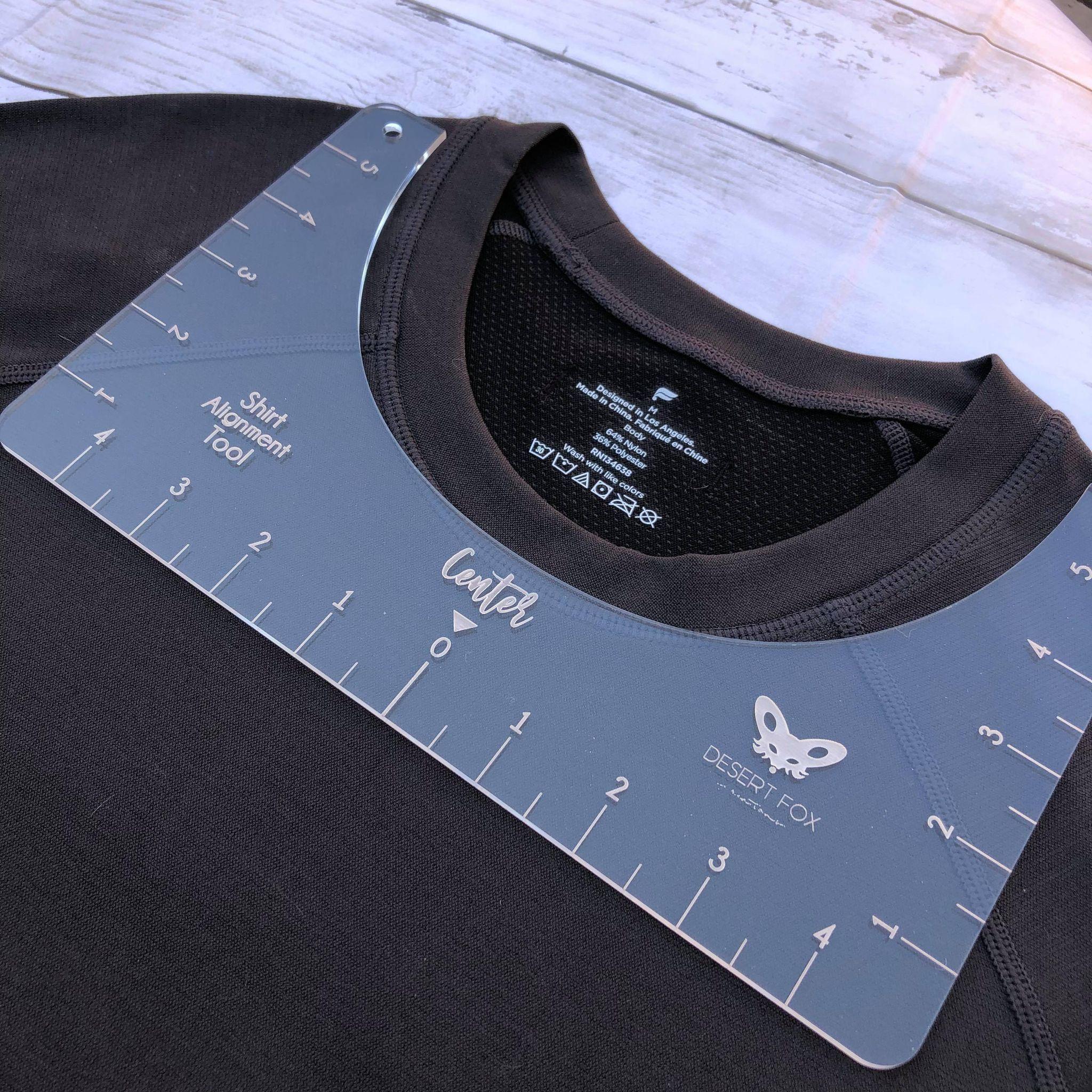 Download T Shirt Alignment Tool T Shirt Ruler One Size Fits All T Shirt Centering Screen Alignment Vinyl Alignment Sublimation Cricut Vinyl Shirts Shirts Vinyl