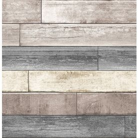 Brewster Wallcovering Faux Finish Textures Wall Stickers Kitchen Wallpaper Wood Plank Backsplash