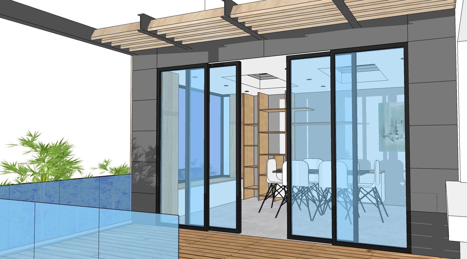 Projet D Extension Bois De 18m Avec Une Terrasse De 15m