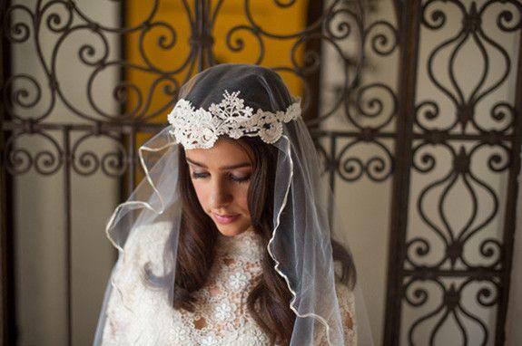 Romantic Latin Inspired Veil