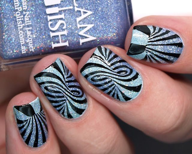 Nail Polish Society Abc Challenge O Is For Optical Illusion
