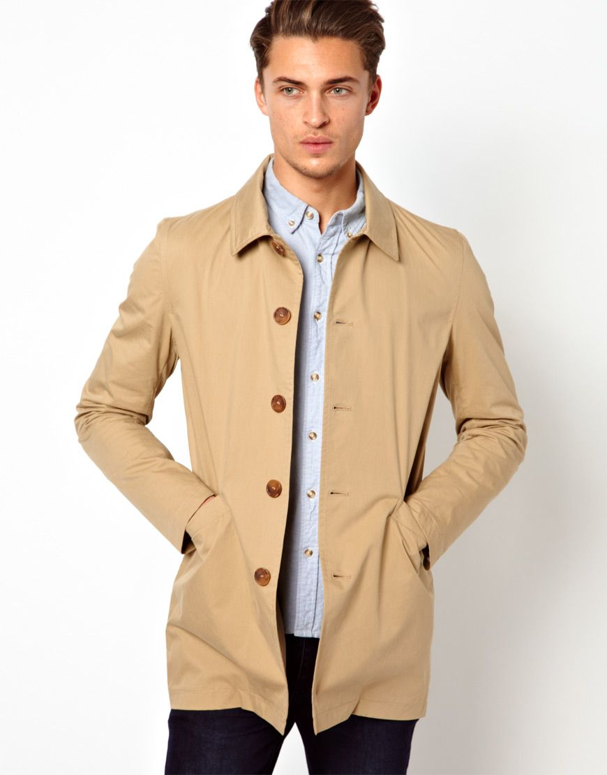 Thomas Pink Trench Coat Men's 46R Euro 56R Golden Mac Khaki Tan Long Belted See more like this. SPONSORED. Mac Coat Size Large Stone Color with Liner Men Free Shipping. Brand New · L. $ or Best Offer. Free Shipping. Vintage Mighty Mac Coat Mens L 70s. Pre-Owned.
