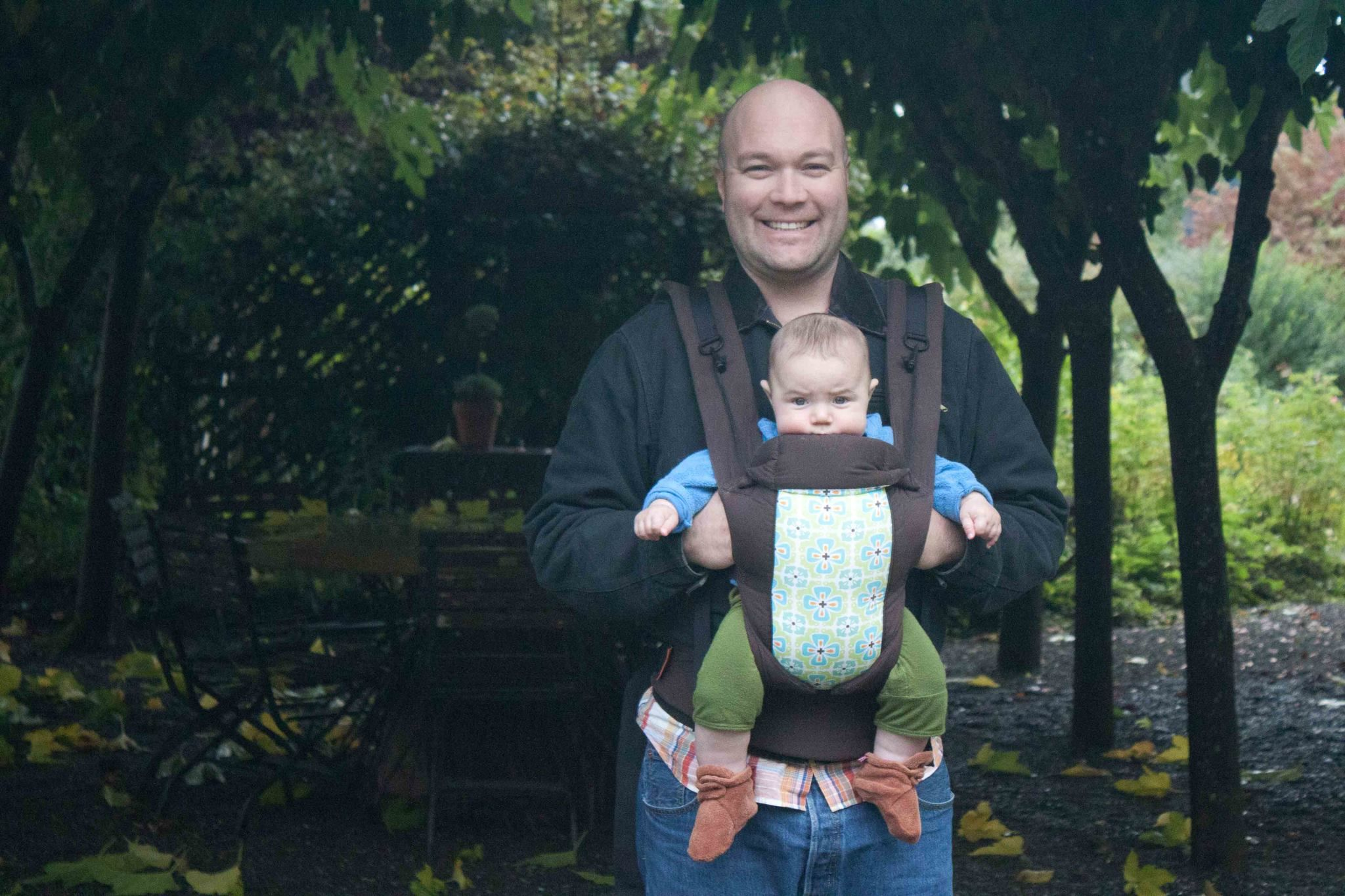 Happy baby, happy dad!