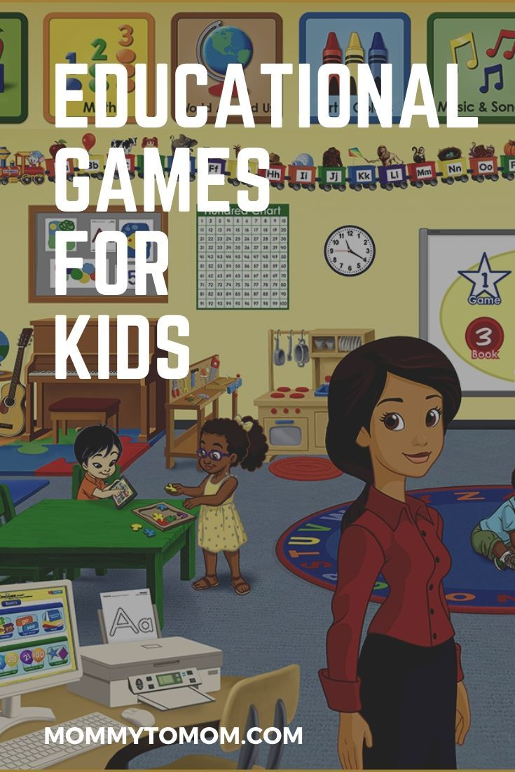 Educational Games For Kids in 2020 Kids learning tools