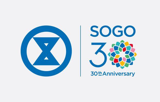 blow | sogo 30th anniversary | hong kong logo/ branding design
