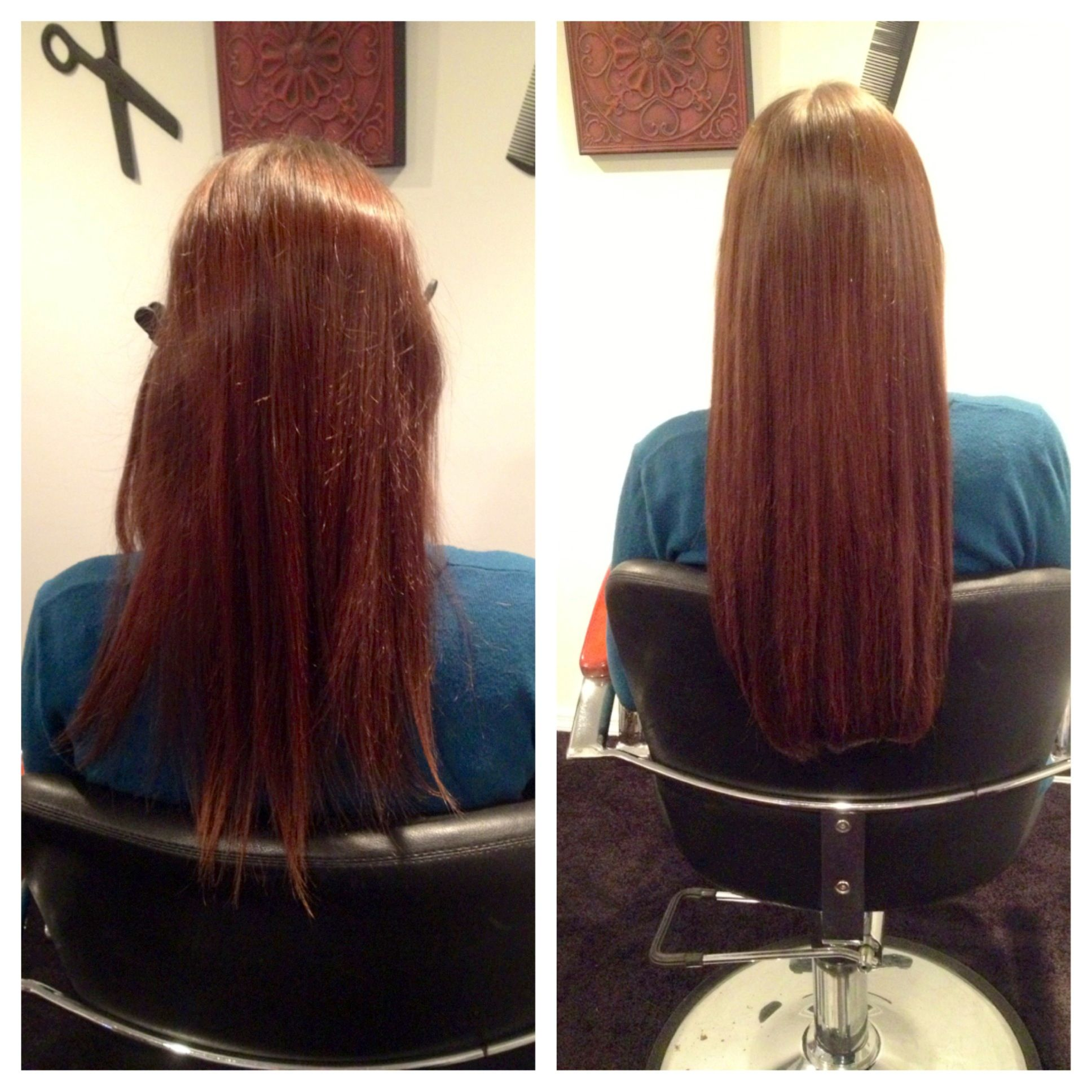 Heathers Before And After She By Socap Hair Extensions Email For