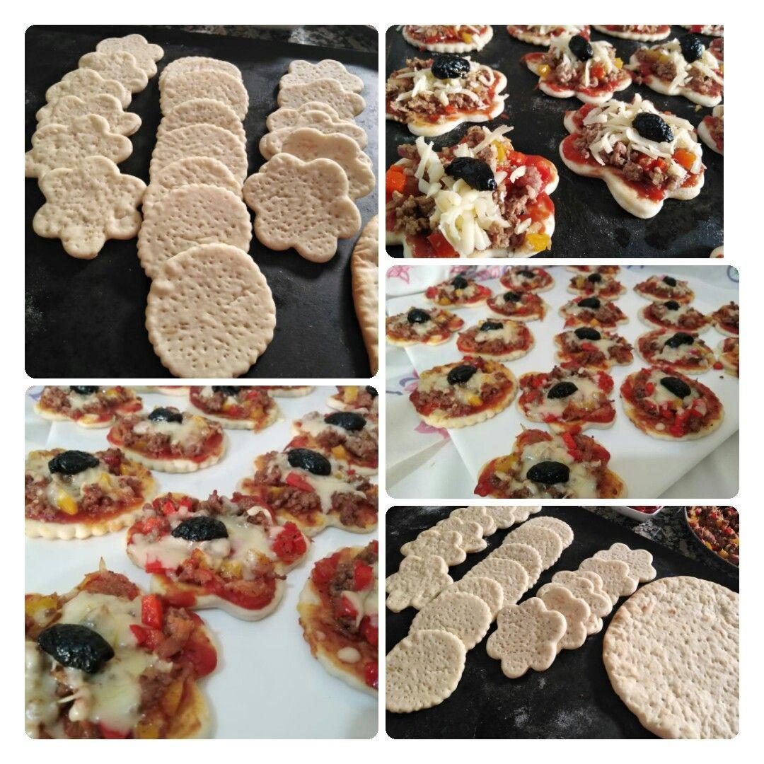 بيتزا باللحم المفروم والجبن شهيوات سامية Recipe Desserts Food Cookies