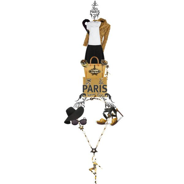 """Jackie in Paris"" by easystyle on Polyvore"
