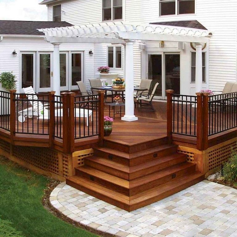 Home Deck Design Ideas: 50+ Awesome Deck Railing Ideas For Your Home (With Images