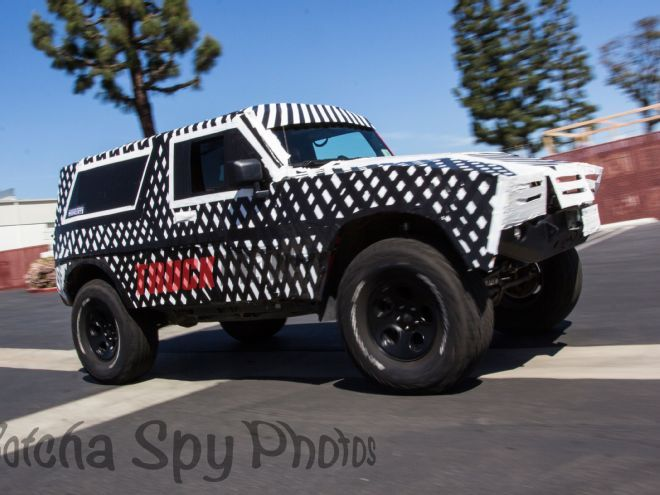 #SpyShots 2020 #Ford Bronco Recently Spied? The Ultimate Off-Roader May Be