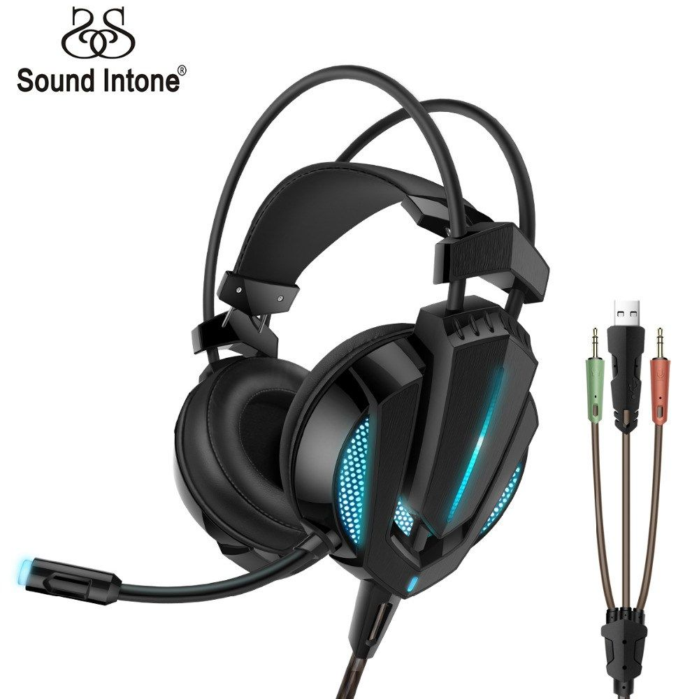 G9 Gaming Headset with Stereo Surround LED Lighting Vibration Wired ...