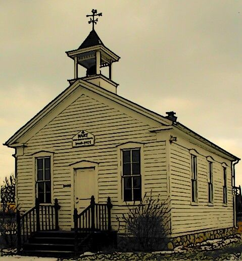 My Ideal School - The One Room School House I Dream Of ... Old One Room School Building
