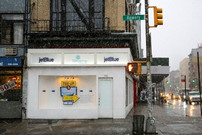 JetBlue Just Built a 25-Foot Rube Goldberg Machine in This NYC Storefront | Adweek